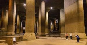 Pod Tokiom sa nachádza obrovský podzemný svet, ktorý chráni mesto pred záplavami