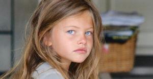 Thylane Blondeau bola ako 6 ročná vyhlásená za najkrajšie dievča na svete. Dnes je z nej 19 ročná žena