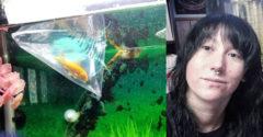 Zadovážila si malú akváriovú rybku. Vtedy ani len netušila, čo sa z nej stane