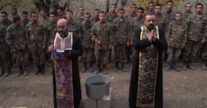 Pred vstupom na front dostali posledné požehnanie (Arménsko)