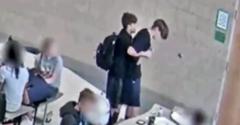 Študent zachráni svojho dusiaceho sa spolužiaka (Heimlichov manéver)