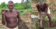 Spočiatku sa mu smiala aj vlastná rodina. Takmer 20 rokov kopal kanál, aby do dediny priviedol vodu