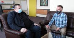 Po odkazovaní cez médiá sa Mikas konečne stretol s Marošom Molnárom