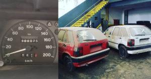 Opustený dealerský sklad dekády skrýval takmer nejazdené staré autá