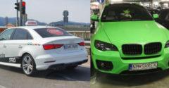 Najvtipnejšie poznávacie značky áut, ktoré jazdia po slovenských cestách