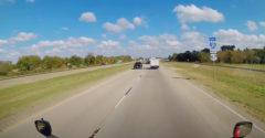 Vodič kamiónu našiel spôsob, ako sa vyhnúť dopravnej zápche