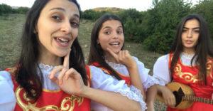 Dievčatá z Gruzínska zapôsobili svojim spevom a pozitívnou energiou