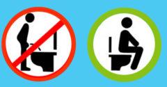 Existuje niekoľko dobrých dôvodov, prečo by muži mali močiť v sede