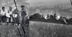 """Slovák na legendárnej fotografii z roku 1932: """"Mariška, jak vidziš, ta ja furt s fľašečku"""""""