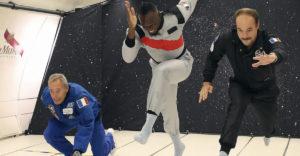 Usain Bolt vyhrá aj šprint v nulovej gravitácii