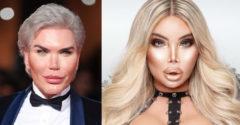 Ako vyzerá Rodrigo Alves alias Jessica bez make-upu? Tvár po 75 plastických operáciách