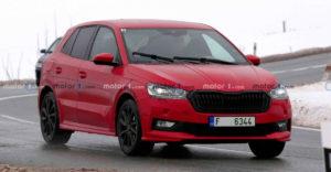 Nová Škoda Fabia IV bude vyzerať naozaj dobre. Nafotiť sa ju podarilo počas testovania
