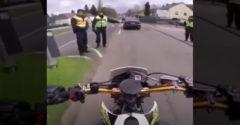 Keď nemecký policajt zastaví motorkára z Francúzska