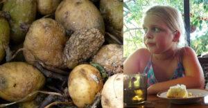 Príbeh 8 ročného dievčatka, ktoré stratilo celú svoju rodinu kvôli zemiakom. Chyba, na ktorú by ste si mali dať pozor