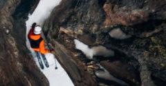 Keď sa profík spustí z vrcholu hory na lyžiach (Jazda snov)