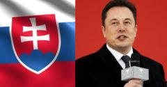 Elon Musk ocenil Slovensko. Pocta, ktorá sa tak často nevidí