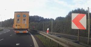 Buď opatrný, niekedy ťa vodič kamiónu nevidí