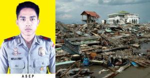 Pred 17 rokmi zmizol počas tsunami. Policajta nedávno našli živého