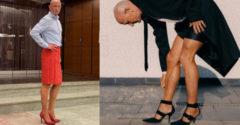 Z akého dôvodu to robí? 61 ročný tréner nosí podpätky a sukne napriek tomu, že má ženu a 4 vnúčatá