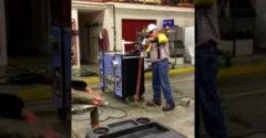 Test ochranných odevov pre elektrikárov