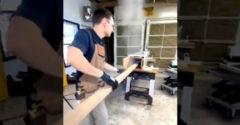 Ohýbanie dreva za pomoci pary (Názorná ukážka)