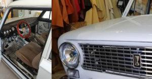 Spoločnosť zaoberajúca sa úpravou luxusných áut si vzala do parády starú Ladu. Interiér premenila na nepoznanie