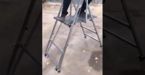 Rebrík, ktorý ti ušetrí množstvo času a námahy (Geniálny vynález)
