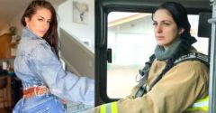 Mladá hasička dostala vyhadzov z práce kvôli fotkám na Instagrame. Podľa nej sa mužom nič podobné nevyčíta