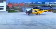 Môže vrtuľník havarovať ešte pred vzlietnutím? (Môže)