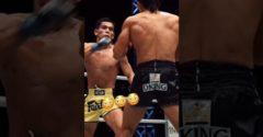 Kickboxeri predviedli instantné reflexy (Dvojitý kop)
