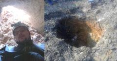 Farmár objavil na svojom poli vchod do jaskyne