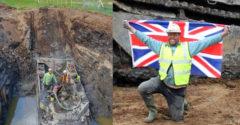 Britský farmár vykopal obojživelný tank z druhej svetovej vojny