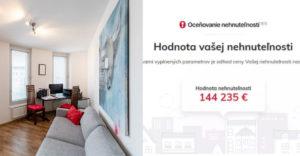 Máš predstavu, koľko aktuálne stojí tvoj byt? Špeciálna kalkulačka na nehnuteľnosti ti to jednoducho vypočíta