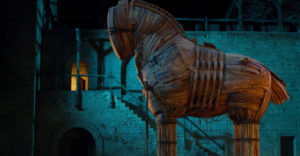Trójsky kôň vôbec nemusel byť koňom. Slávna legenda má podľa vedcov obrovskú trhlinu