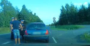 Šoféroval s tromi promile alkoholu v krvi (Zásah policajtov)