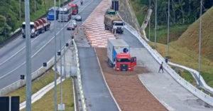 Brzdné rampy pre kamióny a nákladiaky (Vykúpenie na diaľnici)