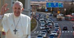 Slovensko v najbližších dňoch privíta pápeža. Prehľad rozsiahlych dopravných obmedzení s tým súvisiacich