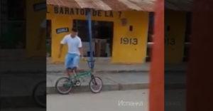Najlepšia lekcia pre zlodeja bicyklov
